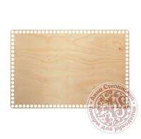 Деревянное донышко «Прямоугольник» для корзины 25х37,5 см