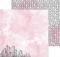 Бумага для скрапбукинга «My City»
