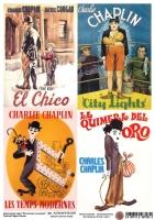 Декупажная карта Великий Чарли Чаплин