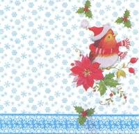 Салфетка для декупажа «Рождественские птички»