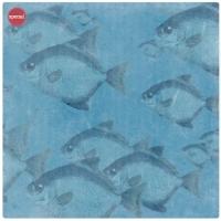 Бумага Морские глубины. Рыбы
