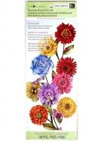 Набор бумаги с вырубкой Цветы, Сад K&Company