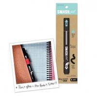 Ручка-клей голубая K&Company