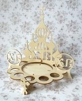 Подставка пасхальная под кулич и яйца «Храм»