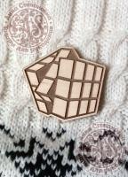 Заготовка «Кубик Рубика» значок