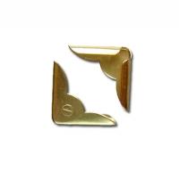 Уголки металлические золотистые 2