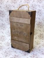Шкатулка для вина двойная Премиум