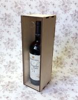Пенал для вина с прозрачной крышкой