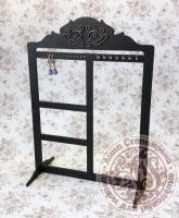 Подставка для украшений черная