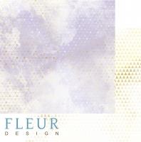 Бумага для скрапбукинга «Туман. Pretty violet»