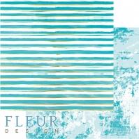Бумага для скрапбукинга «Жизнь в цветах. Pretty tiffany»