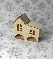 Чайный домик «Простой двухуровневый» с окном