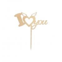 Топпер «I love you — 2»