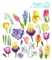 Вырубки для скрапбукинга «Весна»