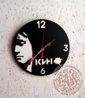 Часы деревянные «В.Цой. Кино»