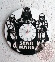 Часы деревянные «STAR WARS»