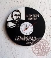 Часы деревянные «LENINGRAD»