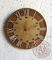 Часы деревянные «Усадьба»