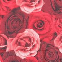 Салфетка для декупажа Красные розы