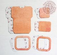 Высечки, конверты, рамочки для скрапбукинга №3