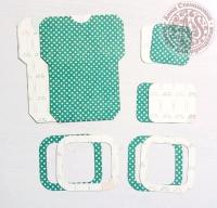 Высечки, конверты, рамочки для скрапбукинга №4
