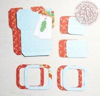 Высечки, конверты, рамочки для скрапбукинга №7