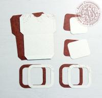 Высечки, конверты, рамочки для скрапбукинга №8