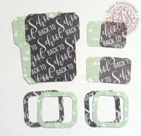Высечки, конверты, рамочки для скрапбукинга №10