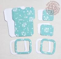 Высечки, конверты, рамочки для скрапбукинга №11