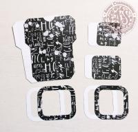 Высечки, конверты, рамочки для скрапбукинга №12
