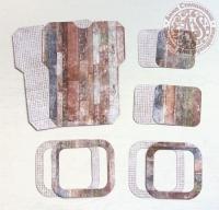 Высечки, конверты, рамочки для скрапбукинга №15