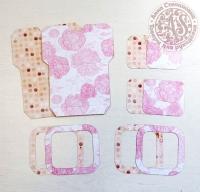 Высечки, конверты, рамочки для скрапбукинга №16