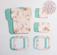 Высечки, конверты, рамочки для скрапбукинга №20