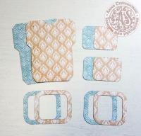 Высечки, конверты, рамочки для скрапбукинга №22