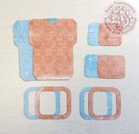 Высечки, конверты, рамочки для скрапбукинга №23
