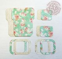Высечки, конверты, рамочки для скрапбукинга №24