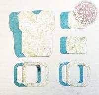 Высечки, конверты, рамочки для скрапбукинга №25