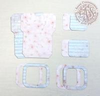 Высечки, конверты, рамочки для скрапбукинга №26
