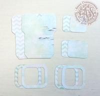 Высечки, конверты, рамочки для скрапбукинга №27