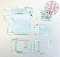 Высечки, конверты, рамочки для скрапбукинга №28