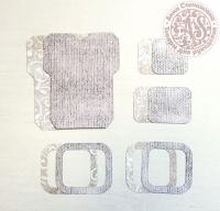 Высечки, конверты, рамочки для скрапбукинга №30