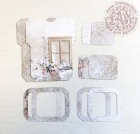 Высечки, конверты, рамочки для скрапбукинга №31