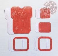 Высечки, конверты, рамочки для скрапбукинга №32