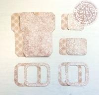 Высечки, конверты, рамочки для скрапбукинга №34