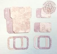 Высечки, конверты, рамочки для скрапбукинга №35