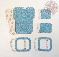 Высечки, конверты, рамочки для скрапбукинга №36