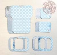 Высечки, конверты, рамочки для скрапбукинга №37