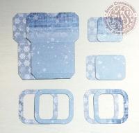 Высечки, конверты, рамочки для скрапбукинга №38