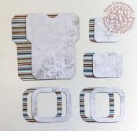 Высечки, конверты, рамочки для скрапбукинга №39