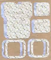 Высечки, конверты, рамочки для скрапбукинга №41